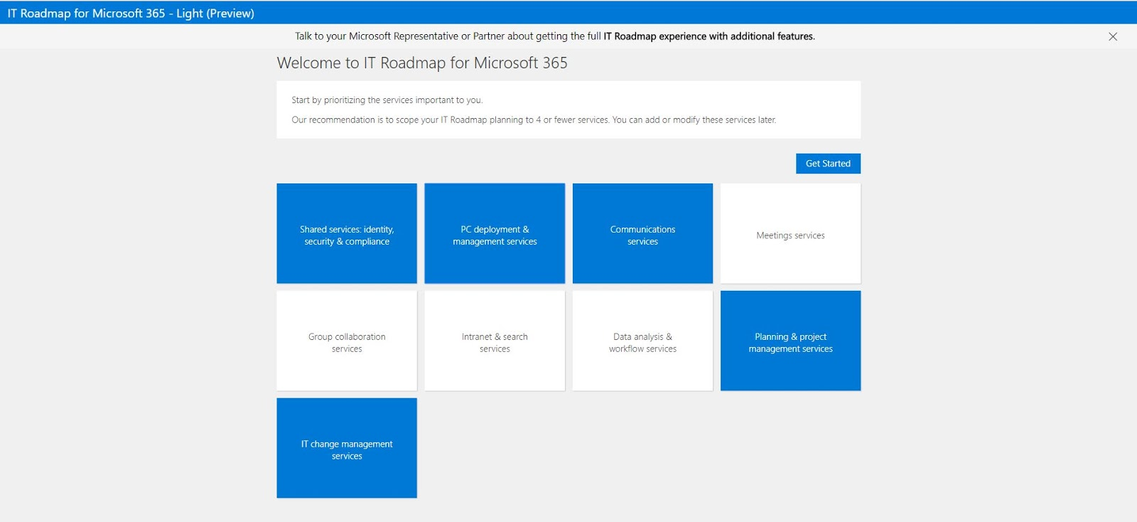 microsoft recently released the new it roadmap planning tool for microsoft 365 currently in preview to benefit organizations in their digital transformation