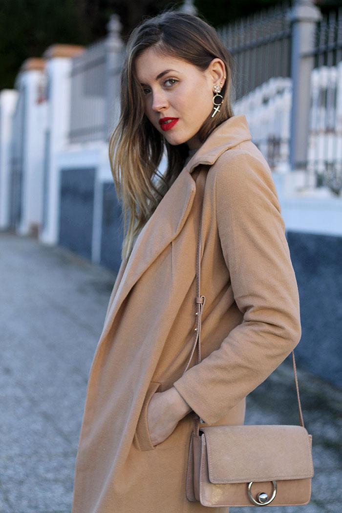 abrigo camel