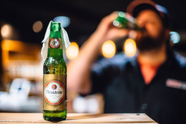 Presidente, the ubiquitous beer of the Dominican Republic