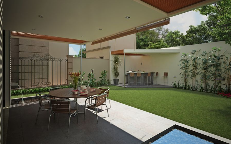 Dibujo t cnico casas minimalistas for Decoracion interior de casas minimalistas