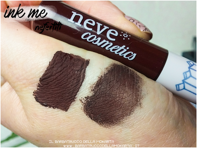 NEFERTITI SWATCHES INKME EYELINER NEVE COSMETICS REVIEW RECENSIONE