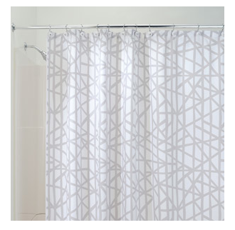 K I S S Keep It Simple Sister Trendy Walmart Shower Curtains
