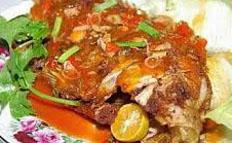 Resep praktis (mudah) krutup ikan nila spesial (istimewa) khas jambi enak, sedap, gurih, nikmat lezat
