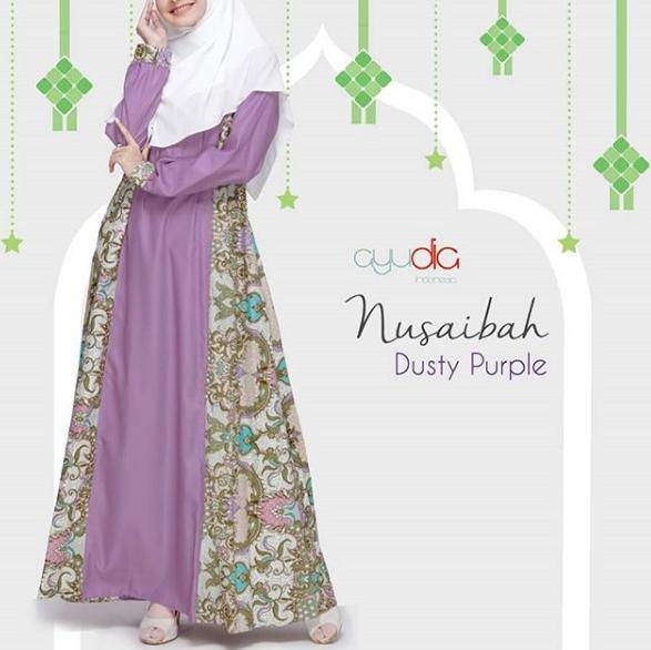 74 Model Gamis Batik Pesta Casual Modern 2019 Terbaru9 Info
