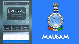 MAUSAM OFFICIAL APP FOR RAIN, CYCLONE, WEATHER ACCURATE INFORMATION