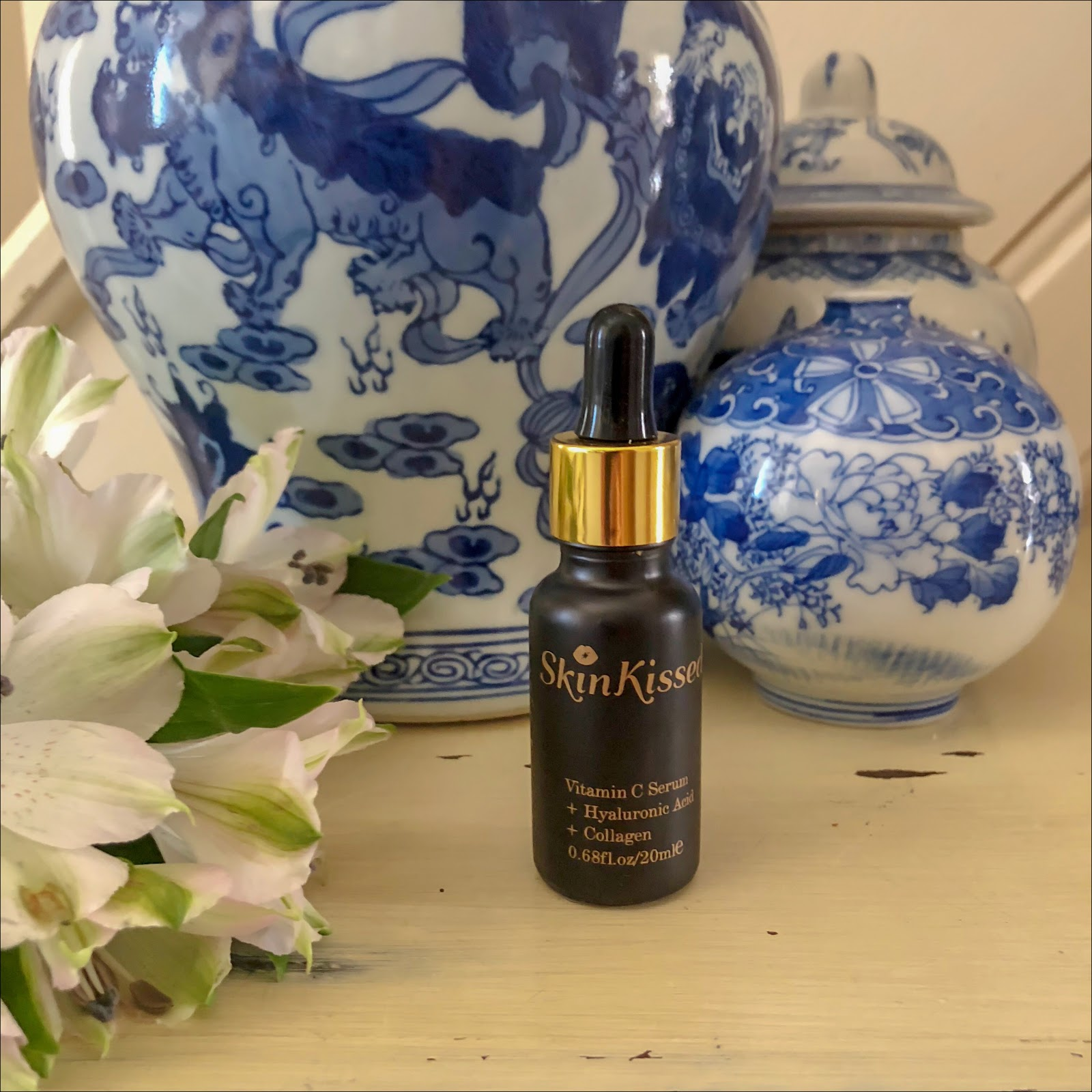 my midlife fashion, skinkissed vitamin c serum