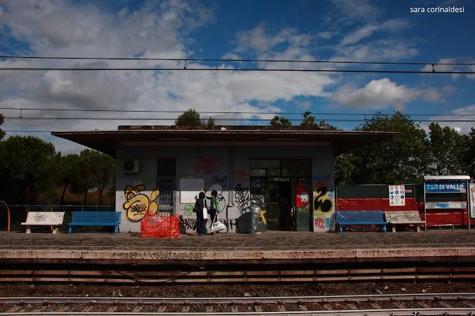 Stadio della Roma, stazione Tor di Valle. Il cantiere abbandonato: lavori cominciati mai finiti