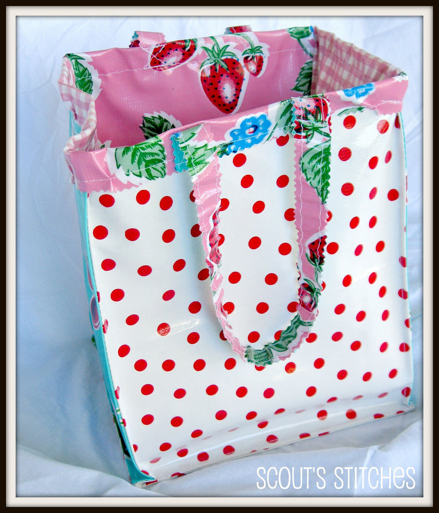 All The Joy Oilcloth Lunch Tote