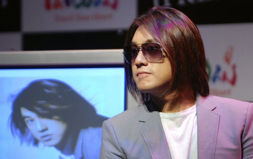 Taiwan Celebrities Gossip: Ken Zhu during his Photo Exhibition