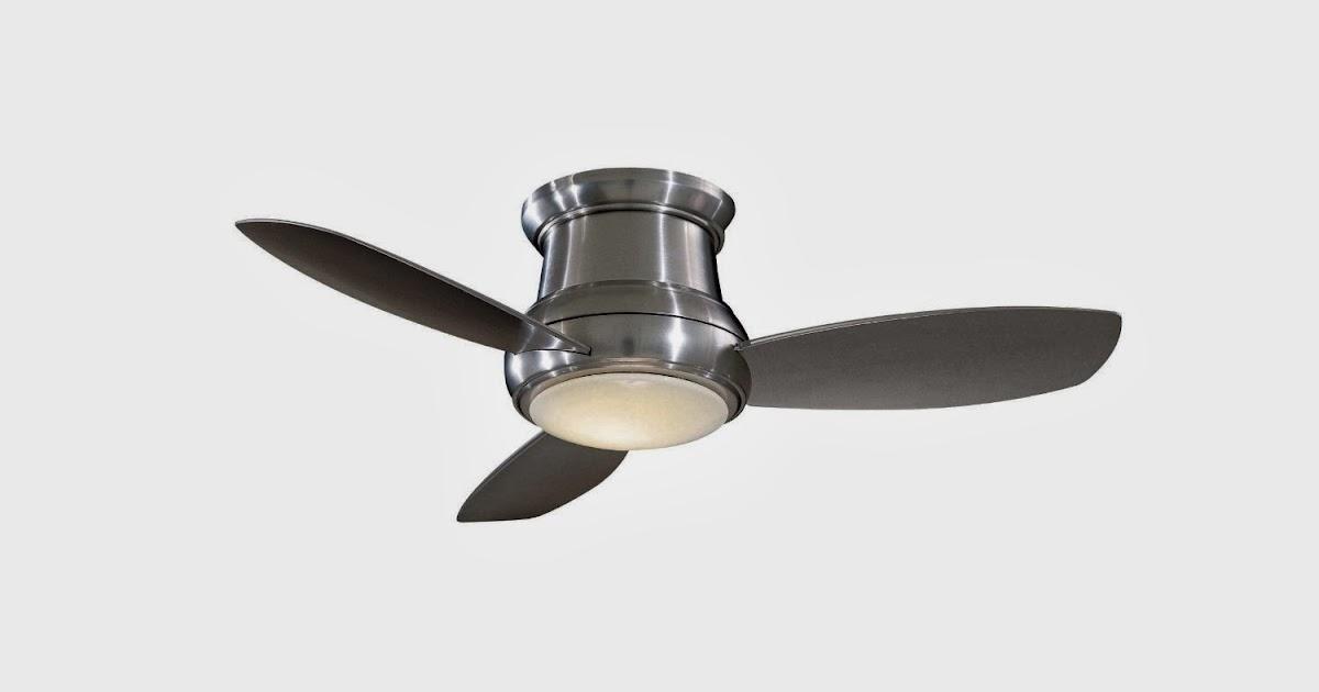 Ceiling Fans Minka Aire F518 Bn 44 Inch Concept Ii Flush