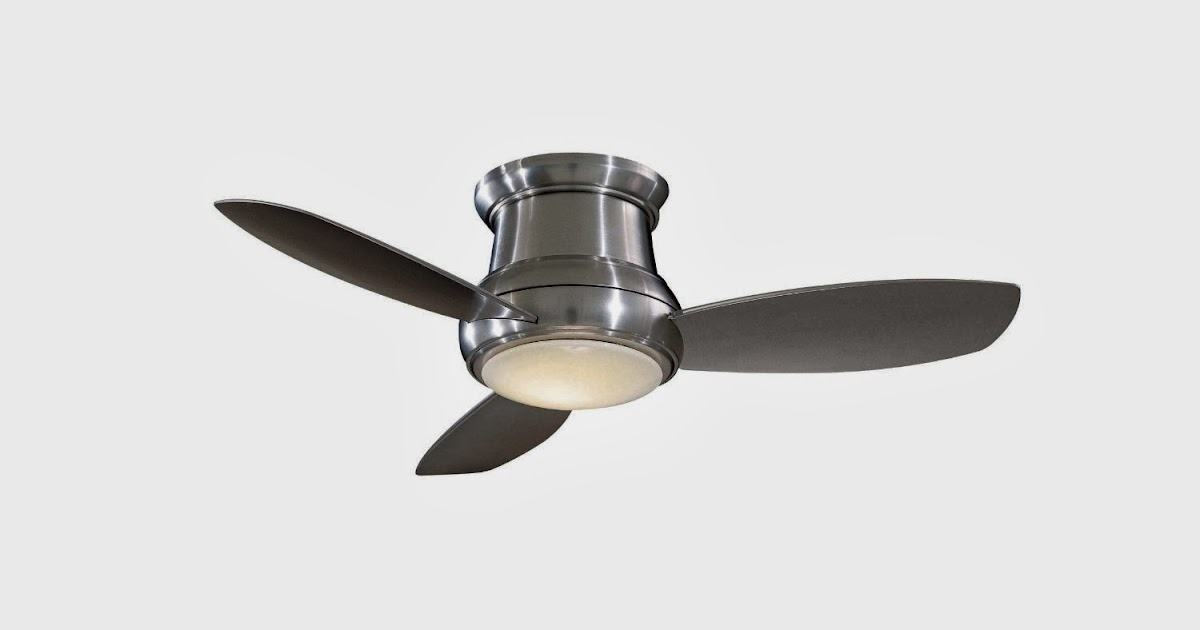Ceiling Fans Minka Aire F518 Bn 44 Inch Concept Ii Flush