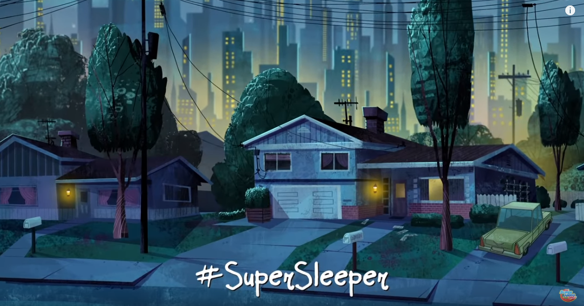 Supergirl Comic Box Commentary: DC Superhero Girls #Supersleeper
