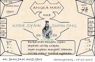 syair hk, PREDIKSI TOGEL HONGKONG SELASA