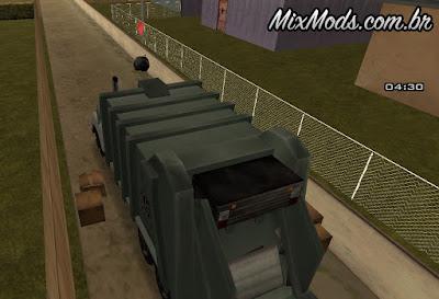 mod missão motorista lixo