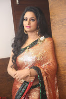 Udaya Bhanu lookssizzling in a Saree Choli at Gautam Nanda music launchi ~ Exclusive Celebrities Galleries 123.JPG
