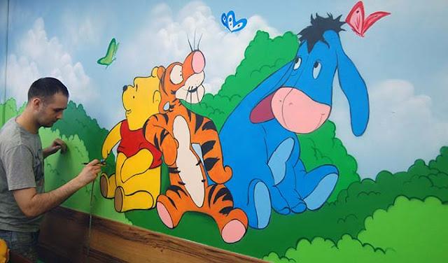 Художественная роспись в детском центре