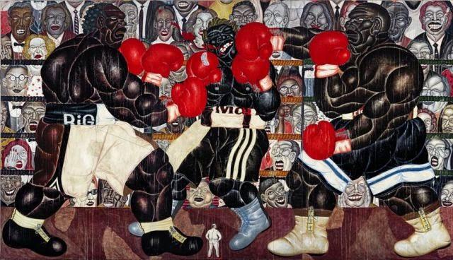 Lukisan termahal katya pelukis indonesia
