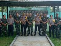 Kapolres HST Kunjungi Batalyon 621 Manuntung Sebagai Bentuk Sinergitas