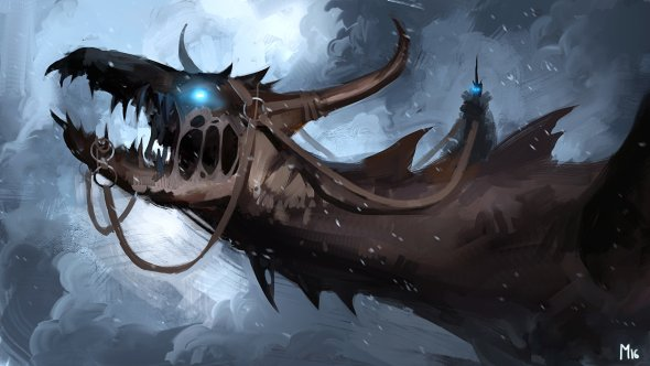 Dominik Mayer artstation arte ilustrações pinturas digitais fantasia terror ficção