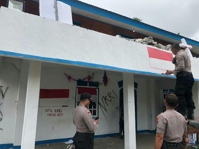 TNI-Polri Ambil Alih Markas KNPB di Wilayah Timika