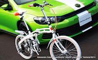 Sepeda Lipat Doppelganger 213 Bellissima 20 Inci