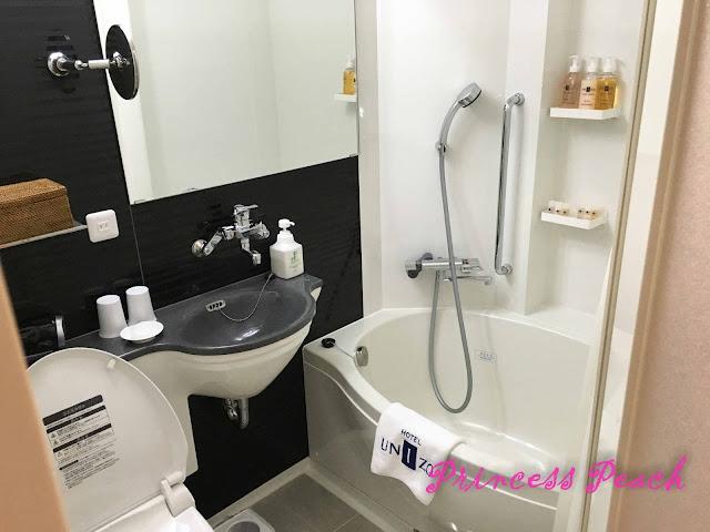 hotel-unizo-ginza-itchome-衛浴設備