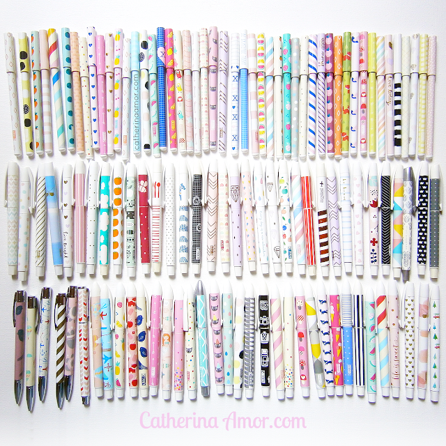 My Collection of Kikki K Pens