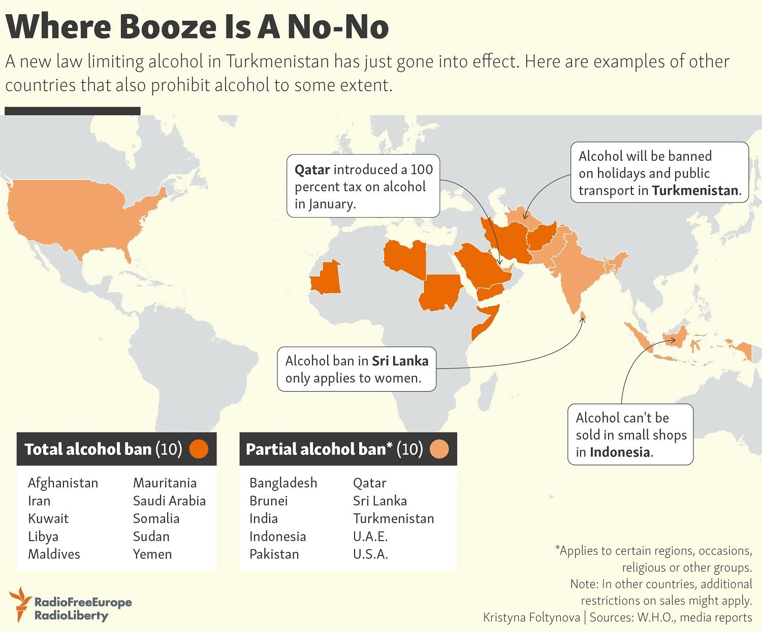 Where Booze Is A No-No
