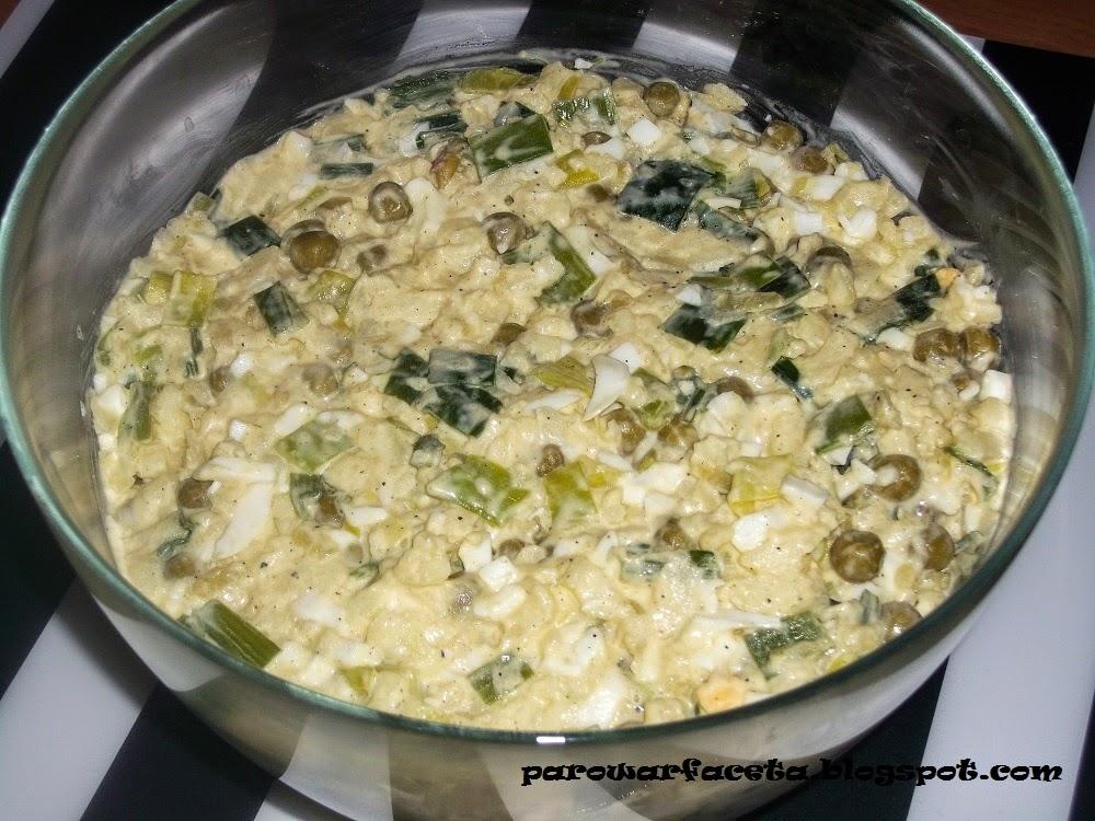 przepis na sałatke warzywną