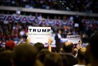 Donald Trump visits USF Tampa, FL