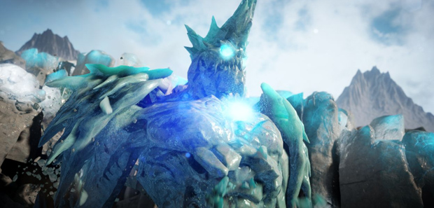 Unreal Engine 4 Elemental Demo PS4