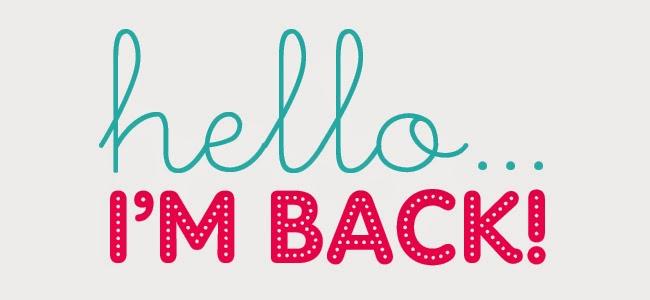 Hello I'm BACK =)