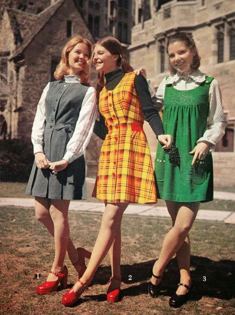 A Vintage Nerd Vintage School Girl Fashion Inspiration 1970s School Girl Fashion