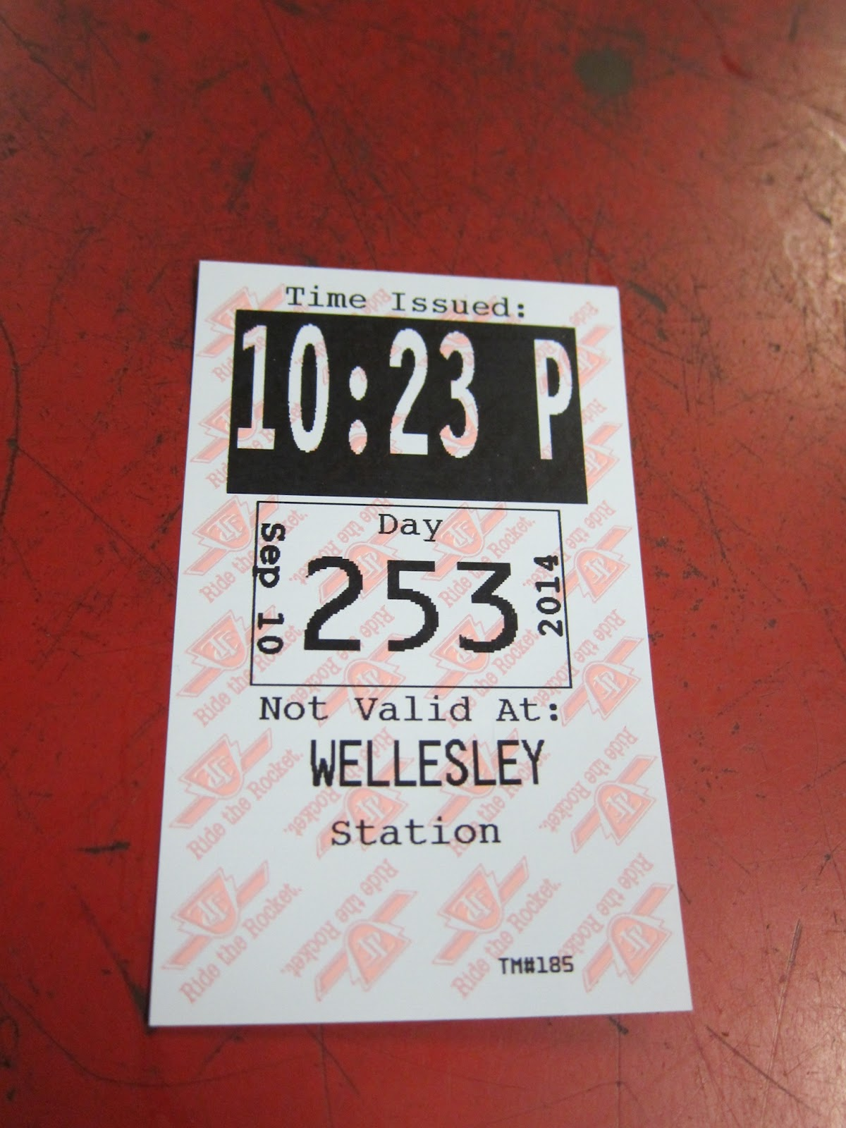Wellesley station transfer