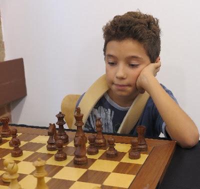El joven ajedrecista Jan Travesset i Sagré