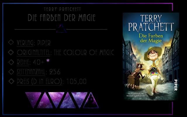 [Rezension] Die Farben der Magie - Terry Pratchett