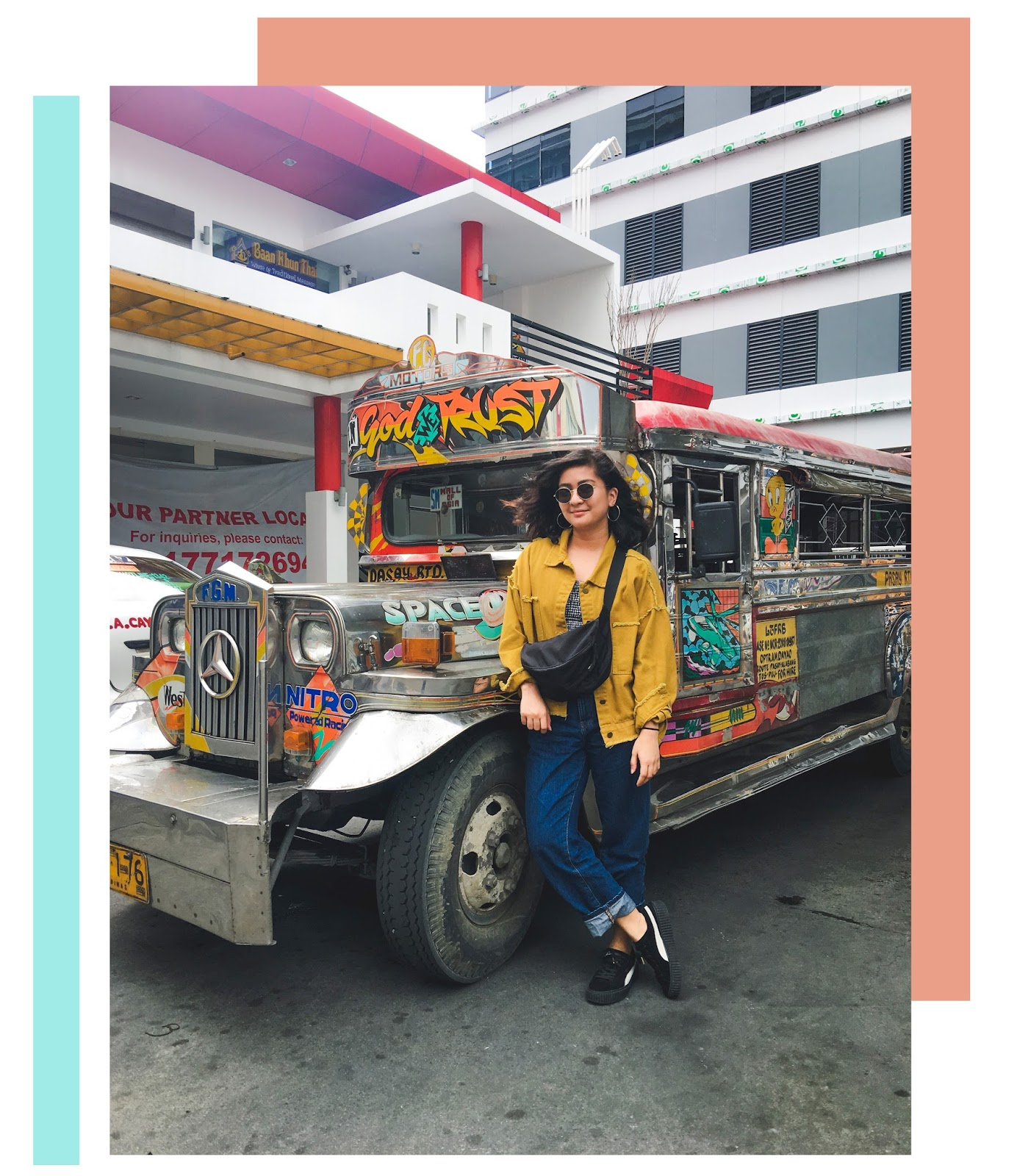 macau fashion and travel blogger outfits in Manila