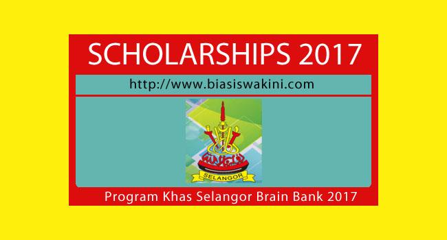 Biasiswa TKWBNS 2017-Program Khas Selangor Brain Bank