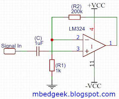 Non-Inverting Amplifier basics