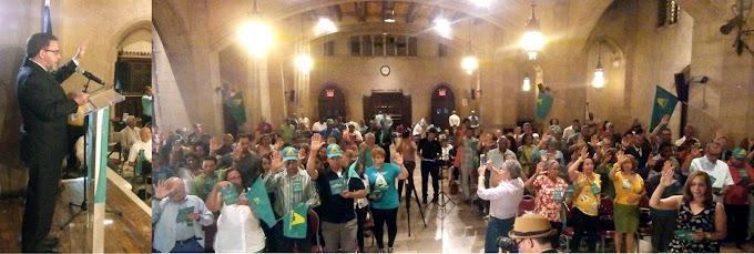 Cientos de nuevos aliancistas fueron juramentados en histórica iglesia Riverside
