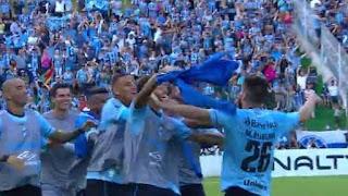 Grêmio vence Juventude por 6 a 0 na semi do Gauchão