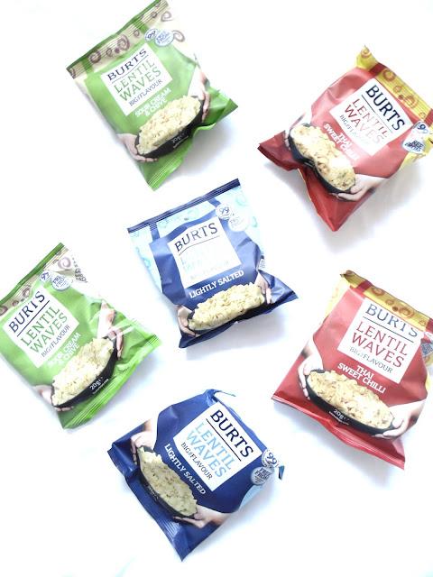 Healthy Snacking: Burts Lentil Waves