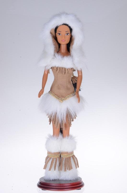 Indiański strój dla lalki Barbie.