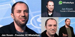 Biography Jan Koum – The Story Of Inspirational Founder Whatsapp