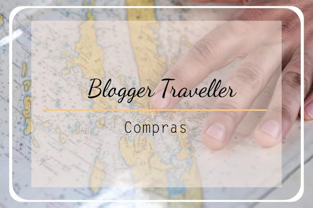 blogger traveller compras