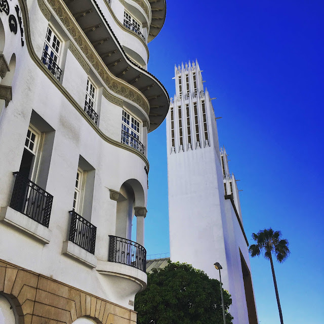 Rabat, art deco