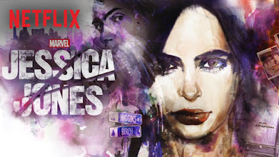 Jessica Jones netflix poster