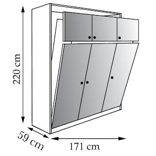 mon blog parmi tant d 39 autres lechatmorpheus le lit escamotable une solution astucieuse pour. Black Bedroom Furniture Sets. Home Design Ideas
