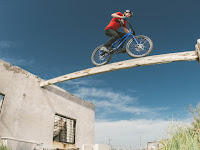 British Cyclist Performs Outrageous Stunts in Forgotten South American