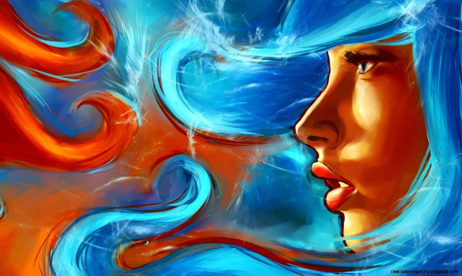 abstract art wallpaper cartoon - photo #32